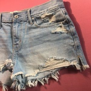 Abercrombie & Fitch - Distressed Shorts